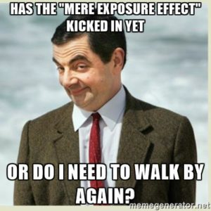the mere-exposure effect